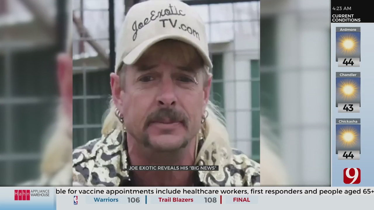 Joe Exotic To Release Memoir, Announces New Team Of Lawyers