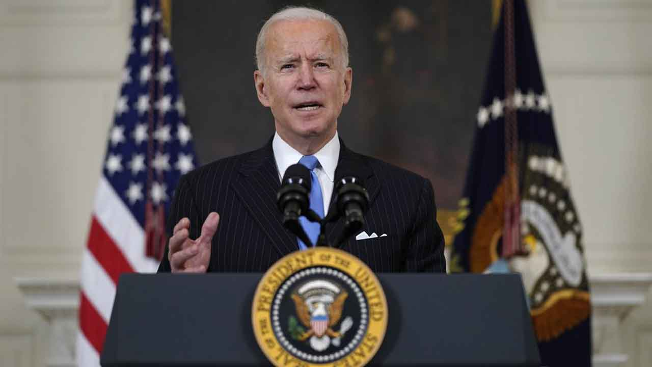 President Biden Vows Enough Vaccine For All US Adults By End Of MayNews On 6