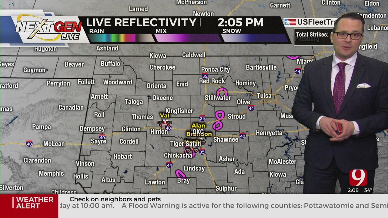 WATCH: Justin Rudicel Winter Weather Update (2:06 p.m.)