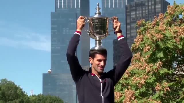 File Footage Of Tennis Player Novak Djokovic