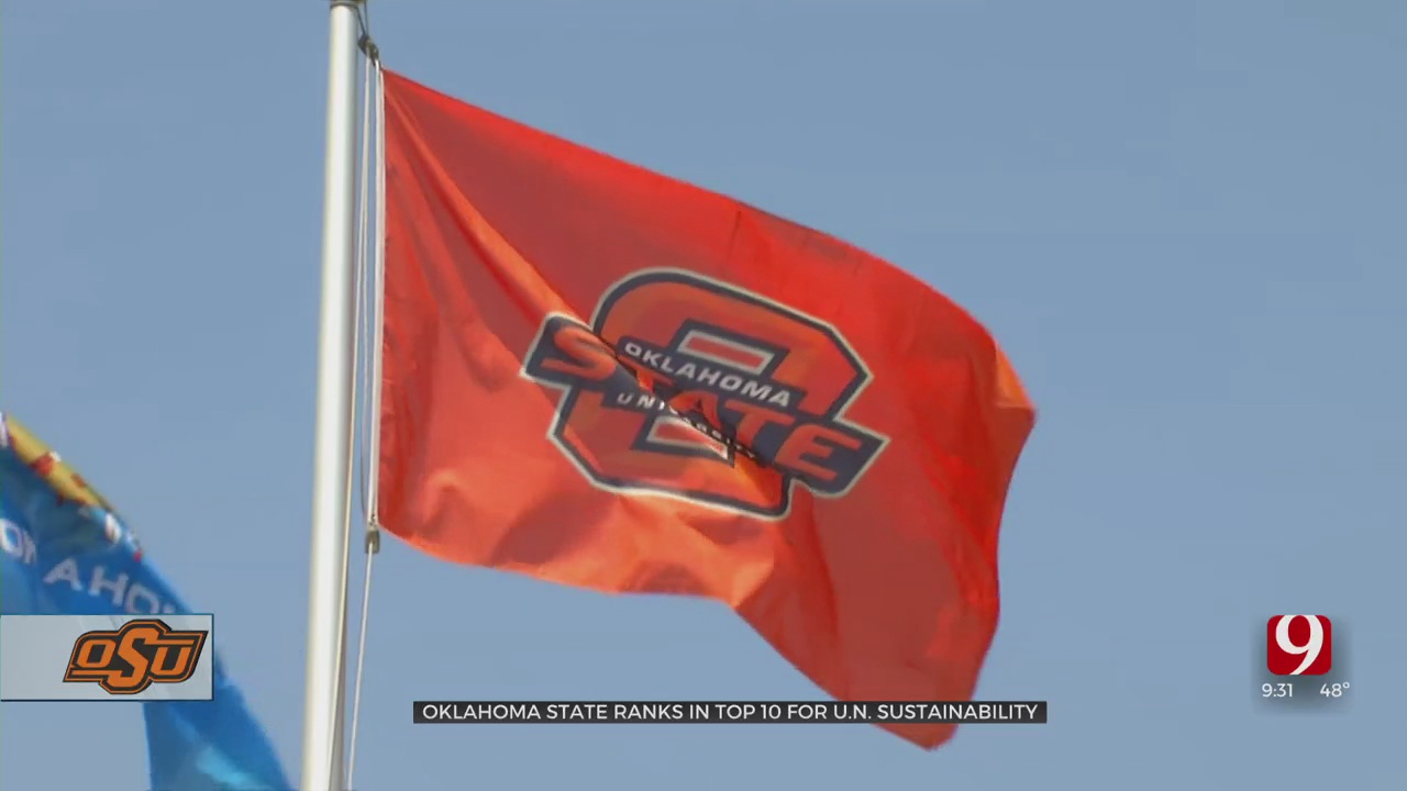 OSU Recognized For Its National Sustainability Achievement