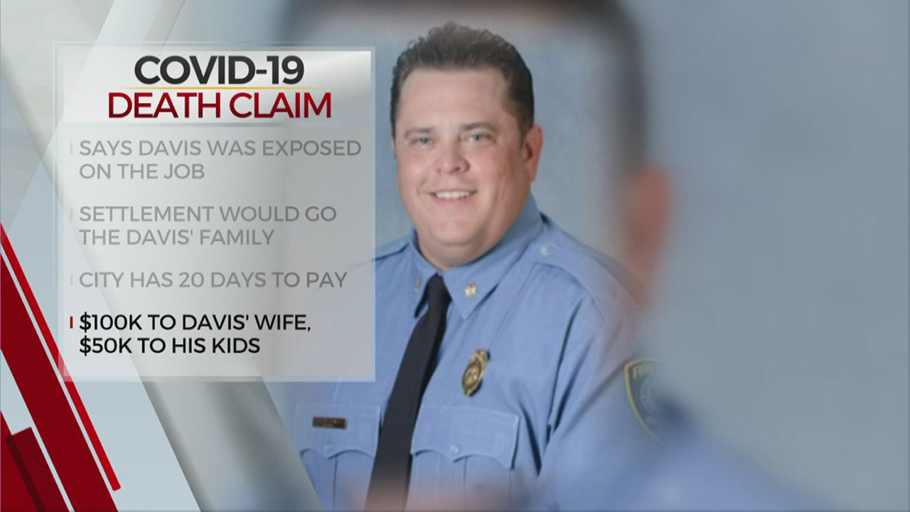 Oklahoma City Council To Consider Payout For OKCFD COVID-19 Victim's Family