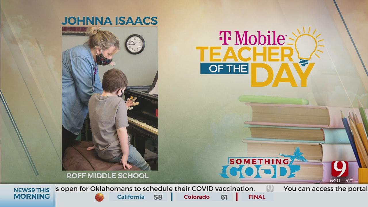 Teacher Of The Day: Johnna Isaacs