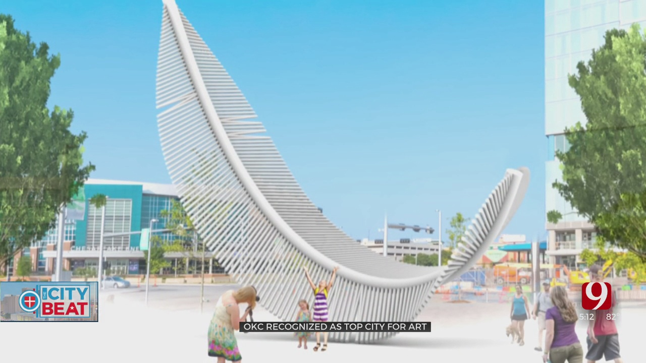 Oklahoma City Recognized As Top City For Public Art