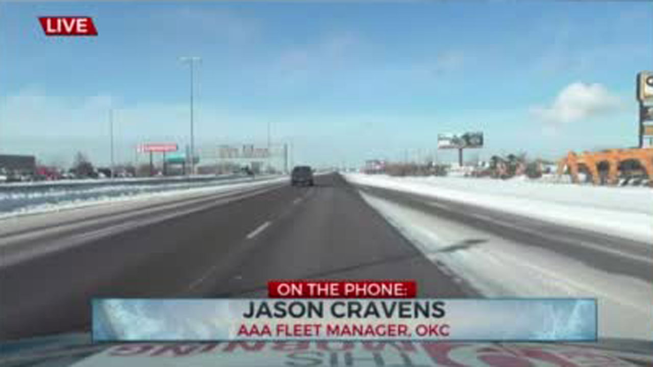 WATCH: AAA Gives Tips For Driving In Winter Weather
