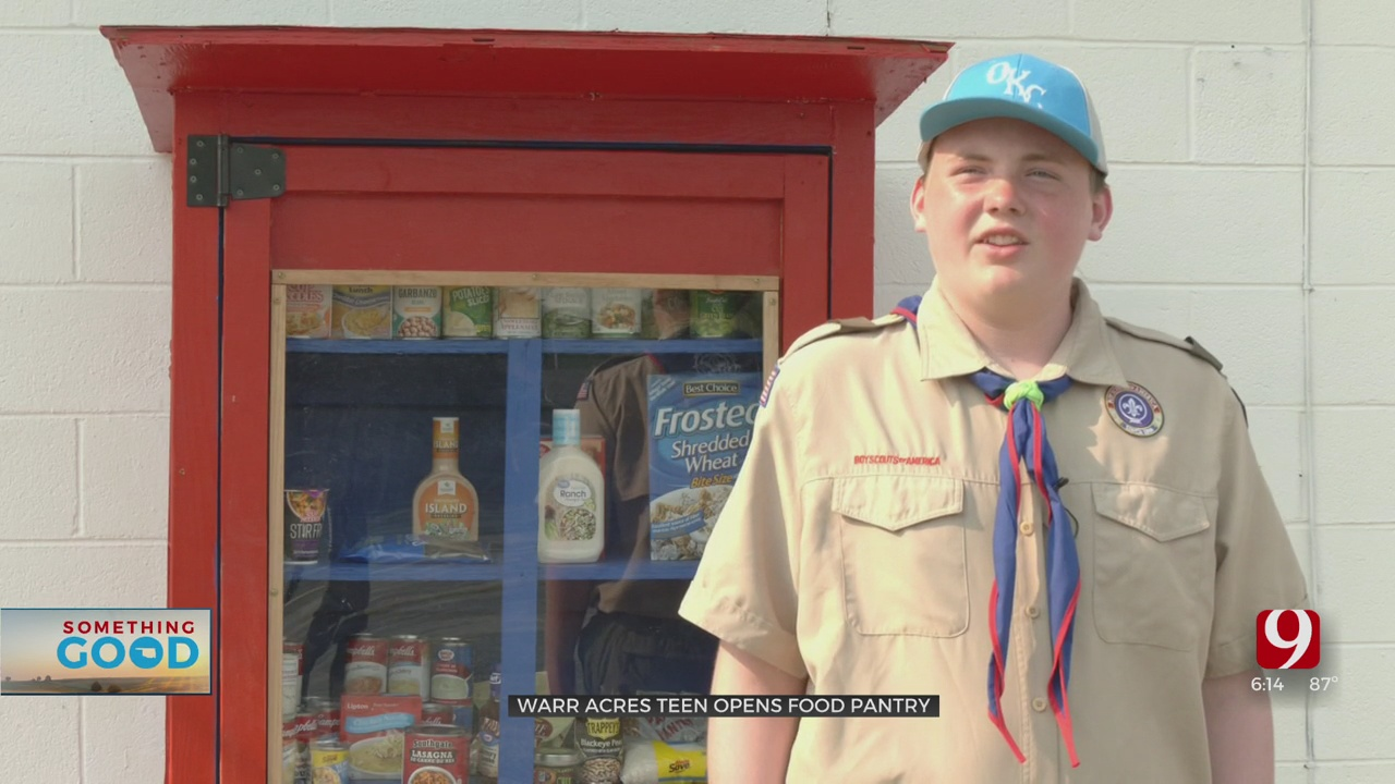 Something Good: 15-Year-Old Creates Food Pantry In Warr Acres