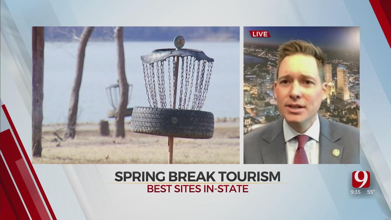 WATCH: Top Staycation Spots In Okla. For Spring Break Travel