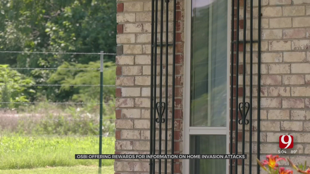 OSBI Offering 2 $7500 Rewards For Help In Tracking Down Suspect In Connection With String Of Watonga Home Invasions