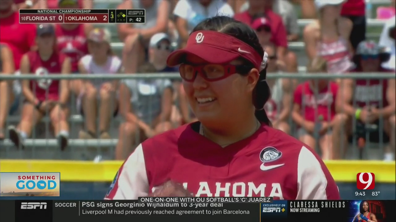 One-On-One With OU Softball's Giselle 'G' Juarez