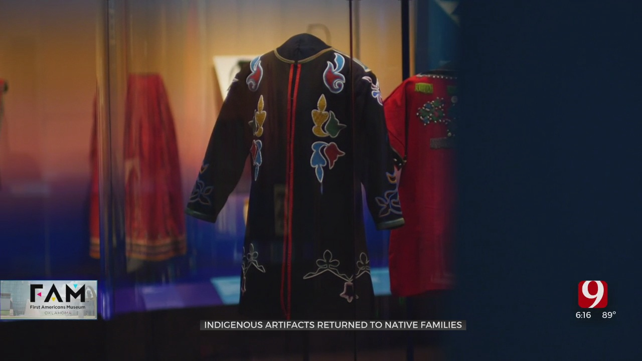 Indigenous Artifacts Returned To Native Families