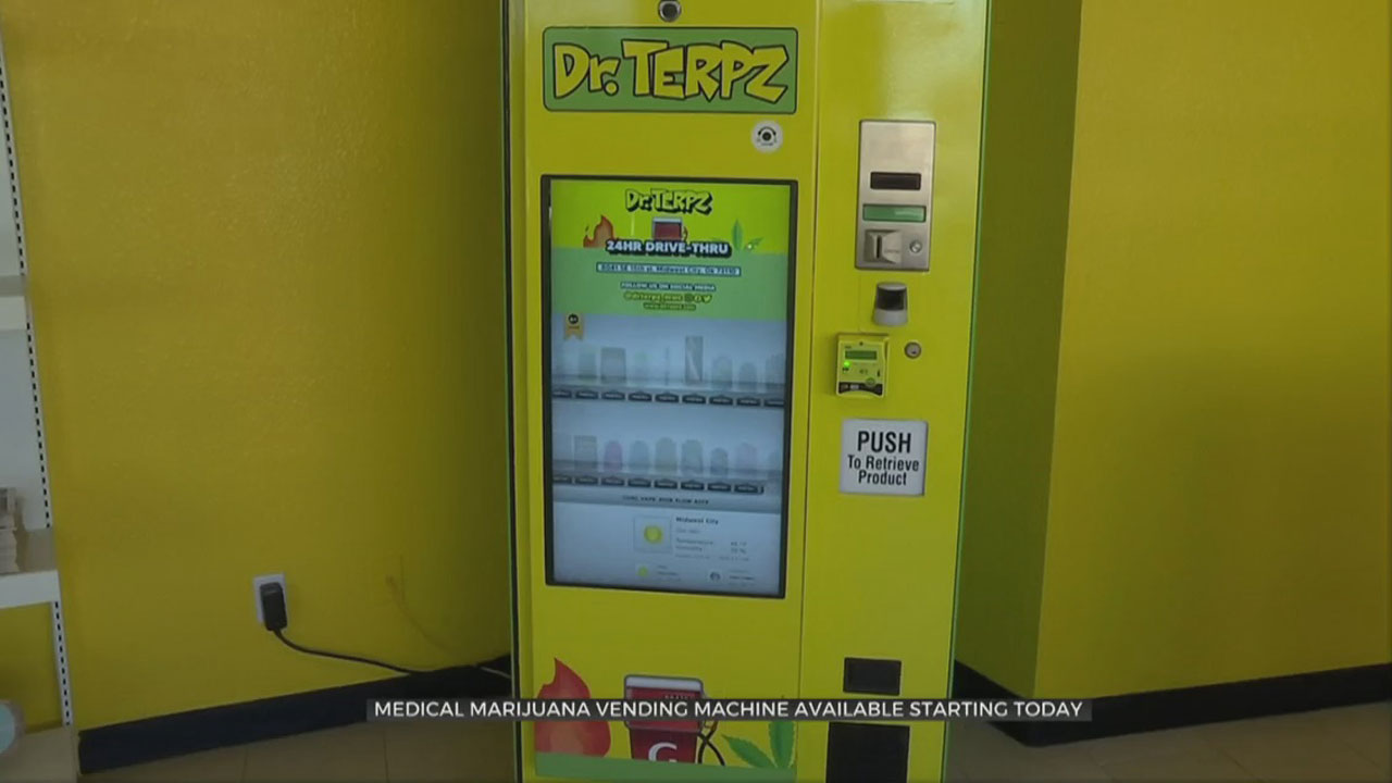 Midwest City Dispensary To Roll Out Medical Marijuana Vending Machine