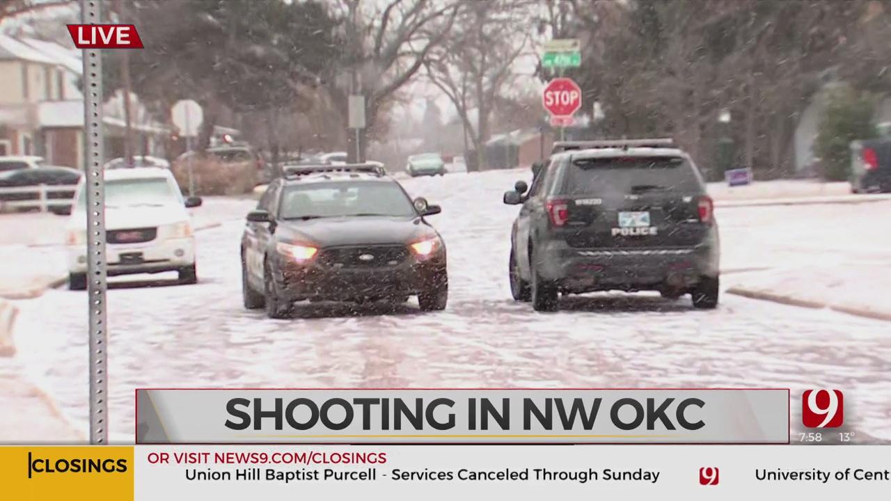 Authorities Say 1 Victim Injured In Northwest OKC Shooting