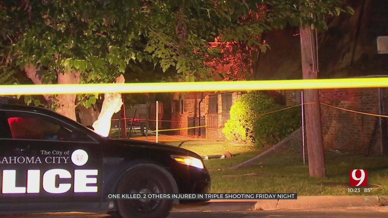 Police Search For Gunman After 1 Dead, 2 More Injured In SW OKC Shooting