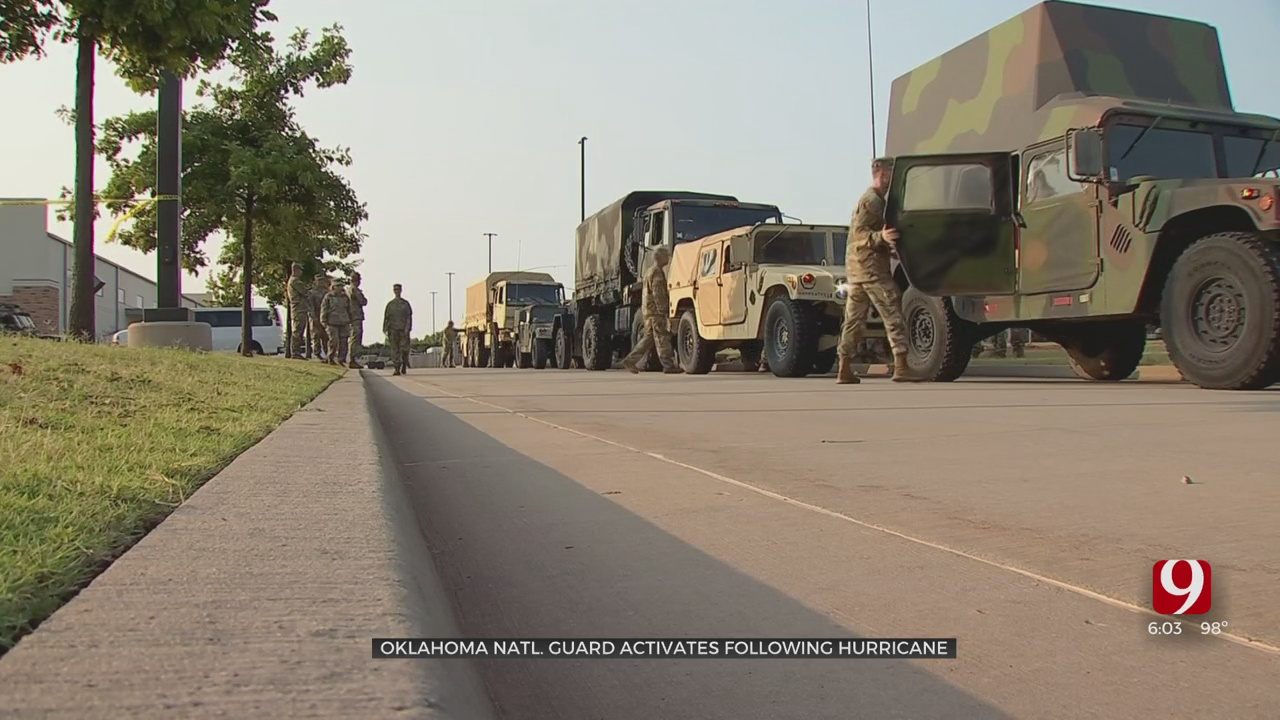 Oklahoma National Guard, Task Force 1 Helping With Hurricane Relief Efforts In Louisiana