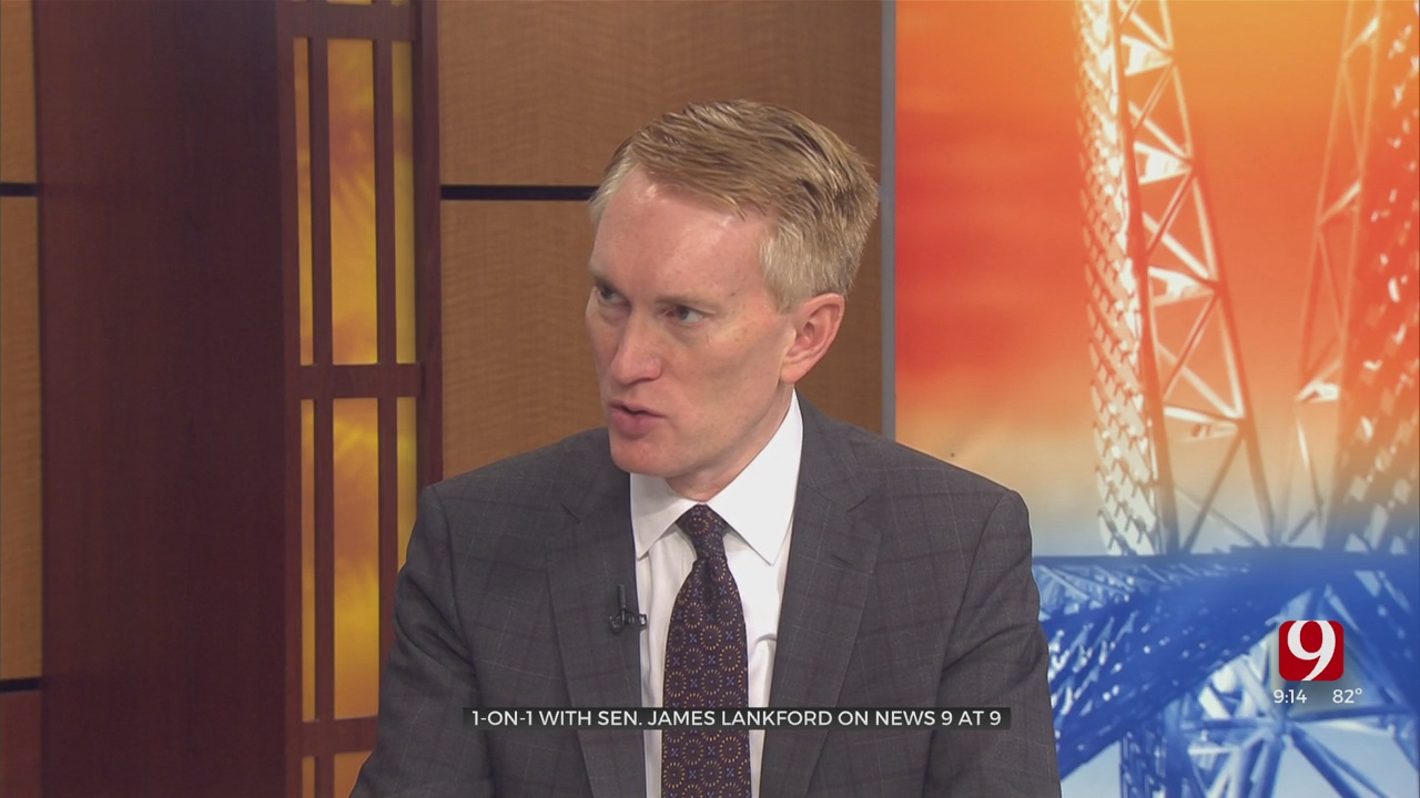 One-On-One: Sen. James Lankford On The Afghanistan Withdrawal