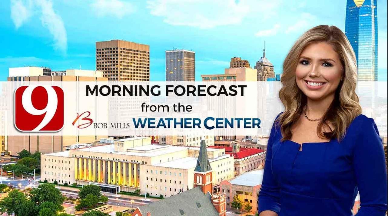 Cassie's 9 A.M. Monday Forecast