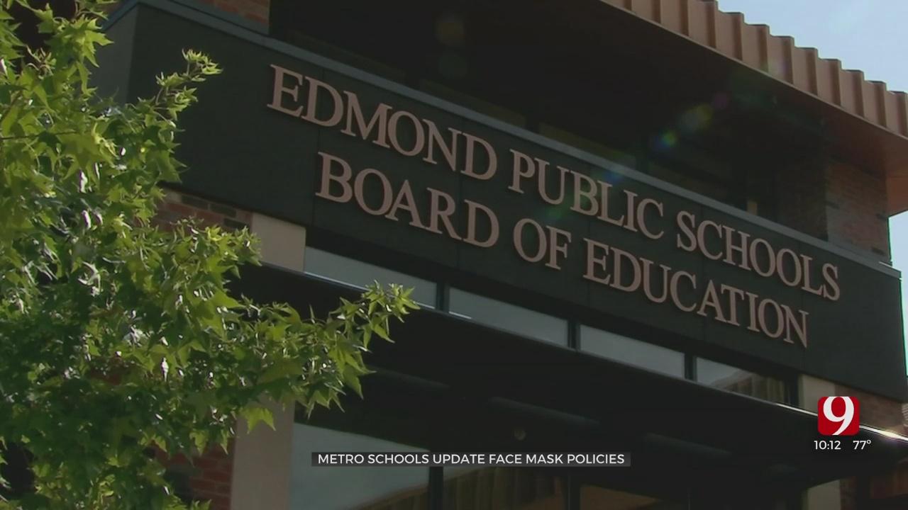 OKC Metro Schools Update Face Mask Policies