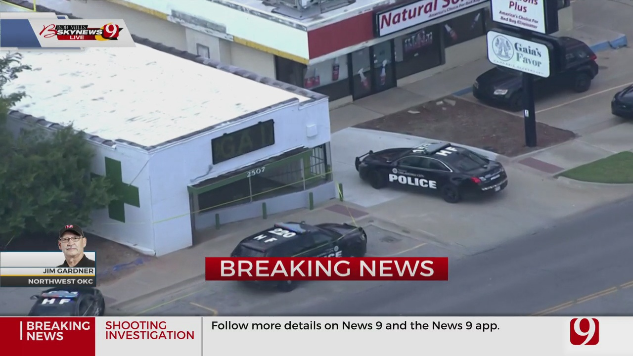 Police Investigate Armed Robbery, Shooting At NW OKC Dispensary