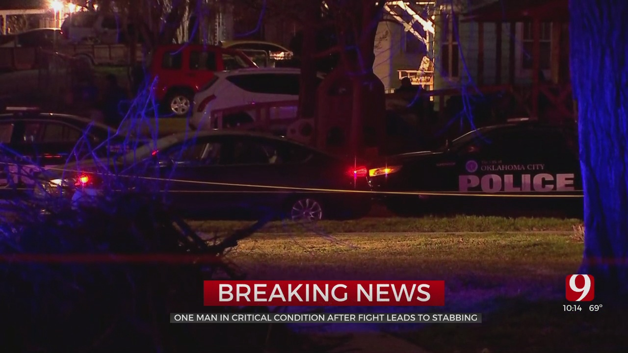 Man In Critical But Stable Condition After SW OKC Stabbing