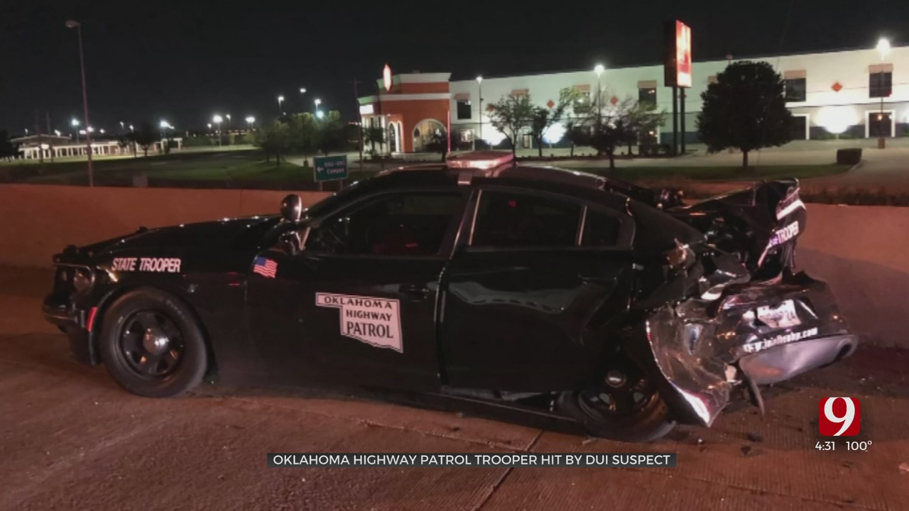 OHP Trooper Speaks Out After His Close Call With An Alleged Drunk Driver At A Construction Zone