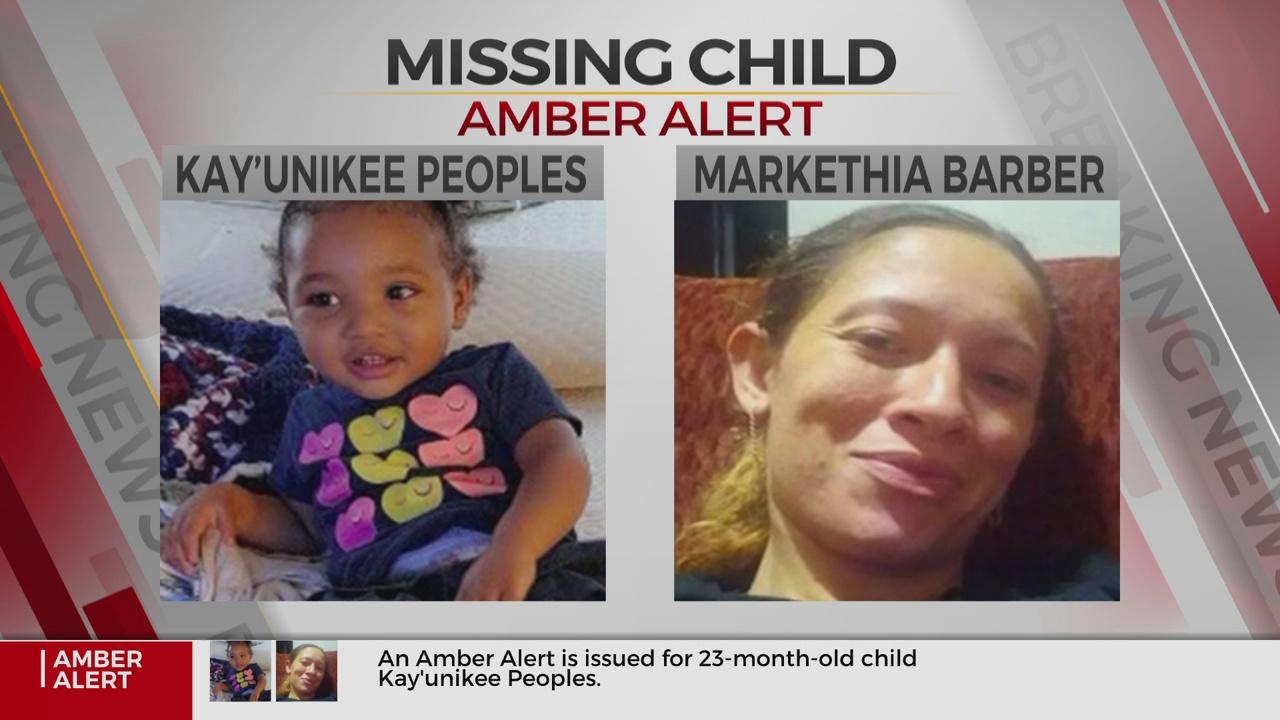 Amber Alert Issued For Missing OKC Toddler
