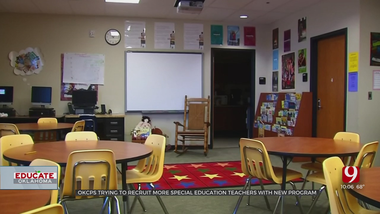 New OKCPS Program Aims To Recruit More Special Education Teachers