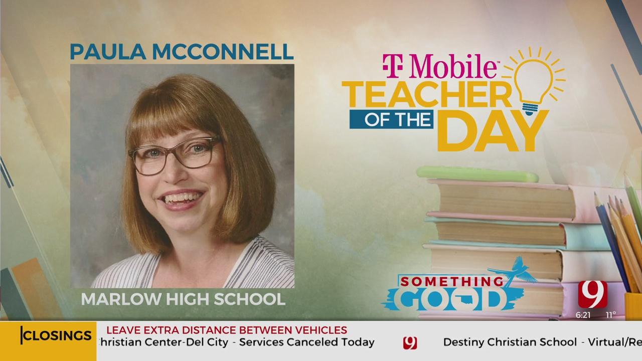 Teacher Of The Day:Paula McConnell
