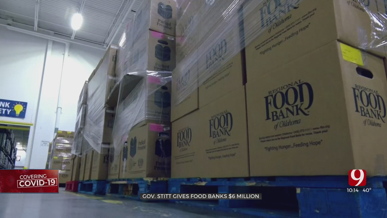 Local Food Banks Receive Additional Funding As COVID-19 Pandemic Continues