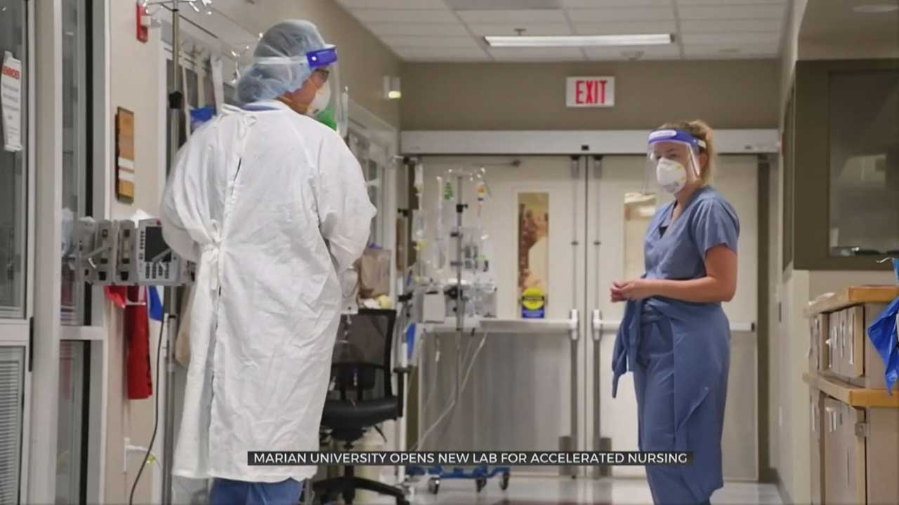 Private University Opens New Lab For Accelerated Nursing In OKC