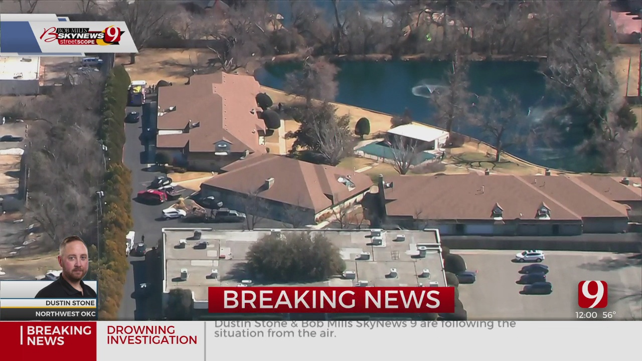 1 Body Recovered As Firefighters Investigate A Drowning In NW OKC