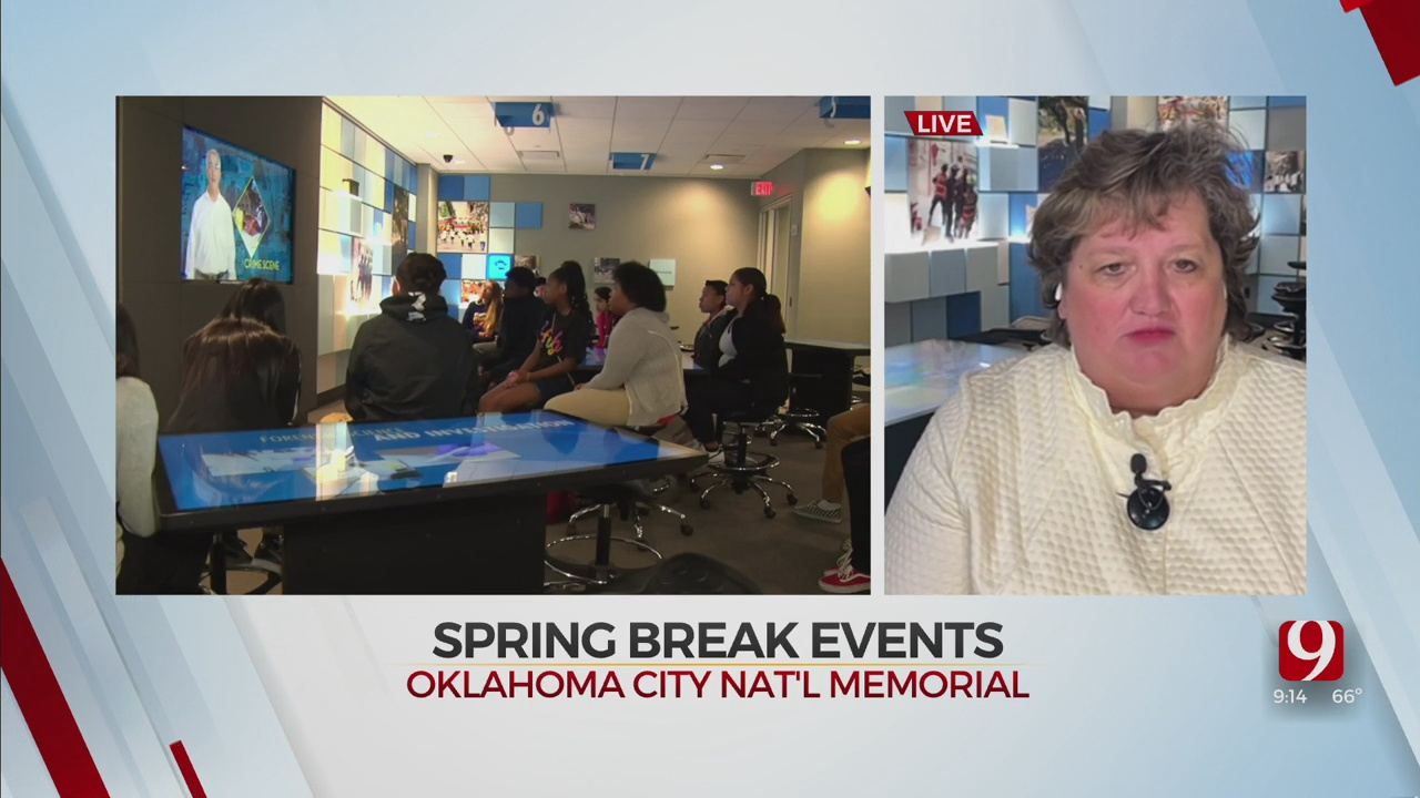 WATCH: Spring Break Events At OKC National Memorial And Museum