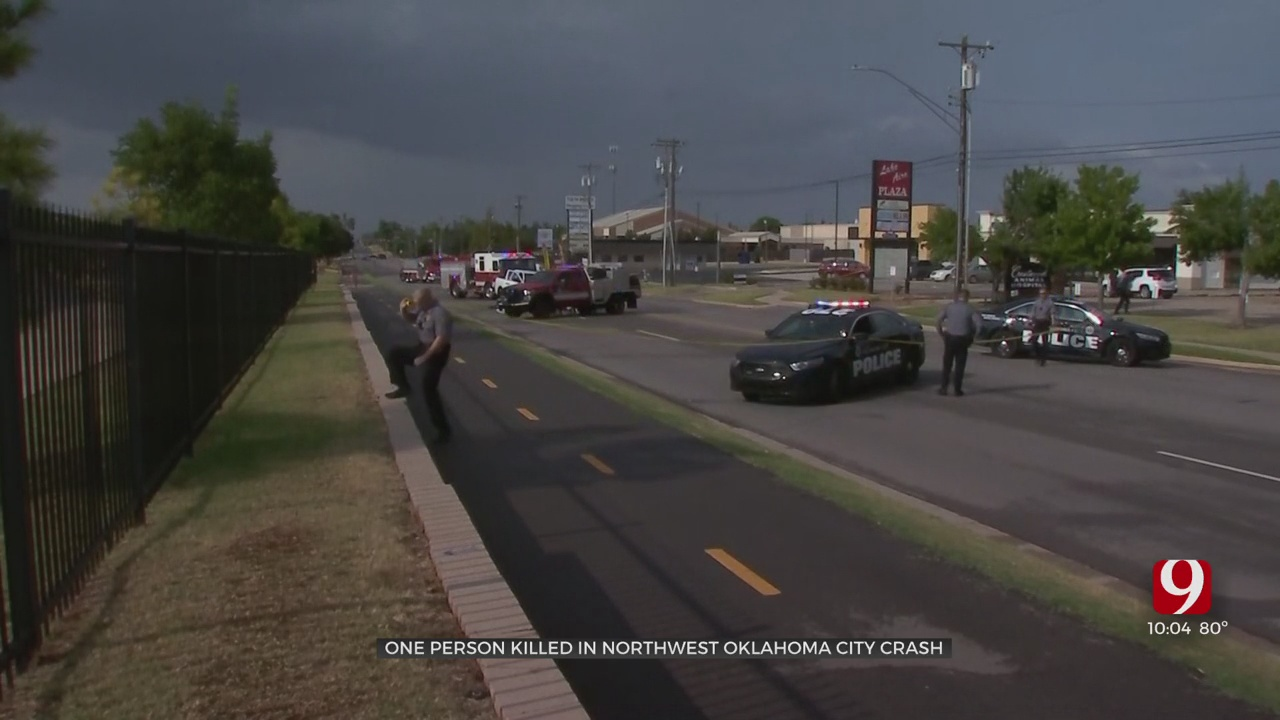 1 Person Killed In NW OKC Crash