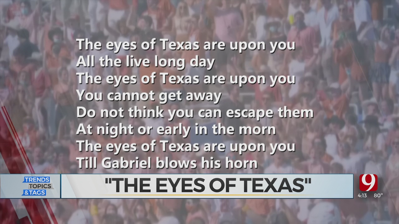 Trends, Topics & Tags: 'The Eyes Of Texas'