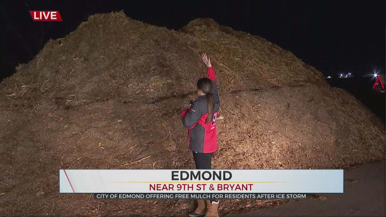 City Of Edmond Offering Free Mulch For Residents Made Of Debris From October Ice Storm