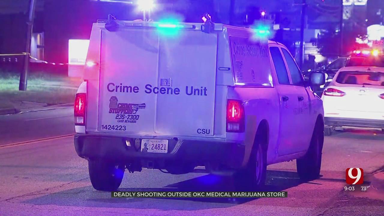 Man Identified In Fatal Shooting Outside SW OKC Dispensary