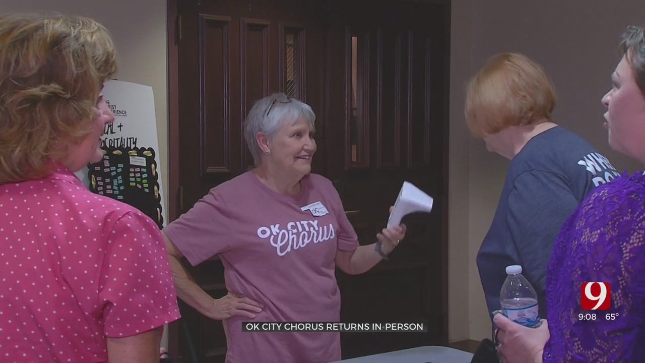 OK City Chorus Brings Back In Person Singing