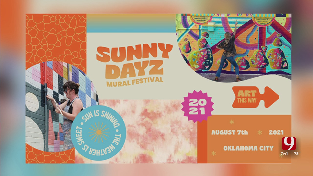 Sunny Dayz Mural Festival Makes Its Debut In Britton District