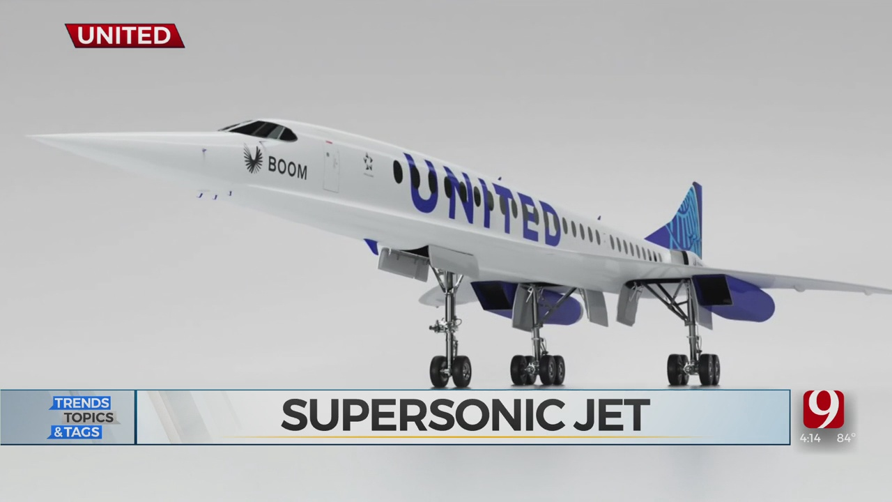 Trends, Topics & Tags: United Airlines Supersonic Flight