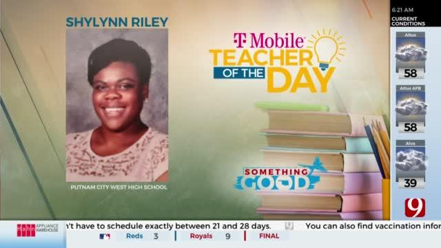 Teacher Of The Day: Shylynn Riley