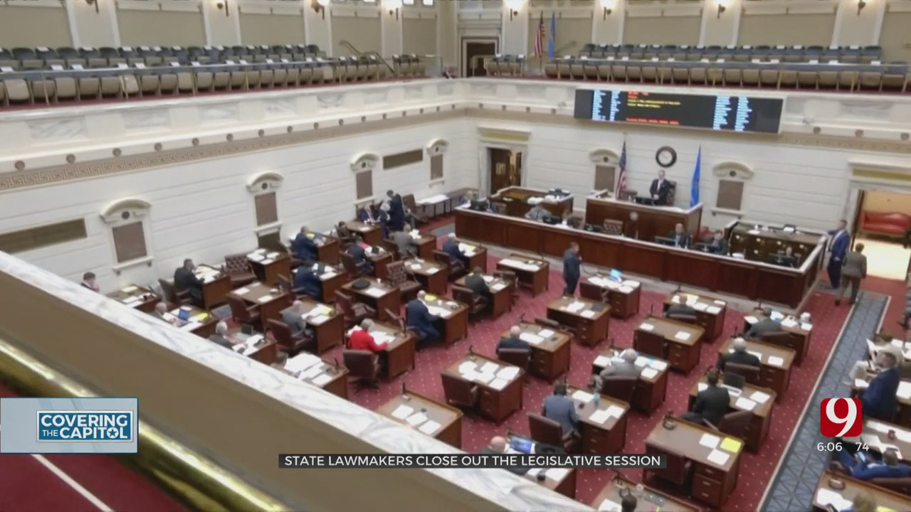 State Lawmakers Close Out The Legislative Session