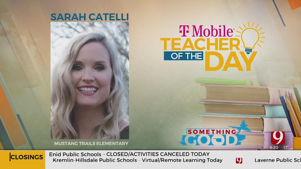 Teacher Of The Day: Sarah Catelli