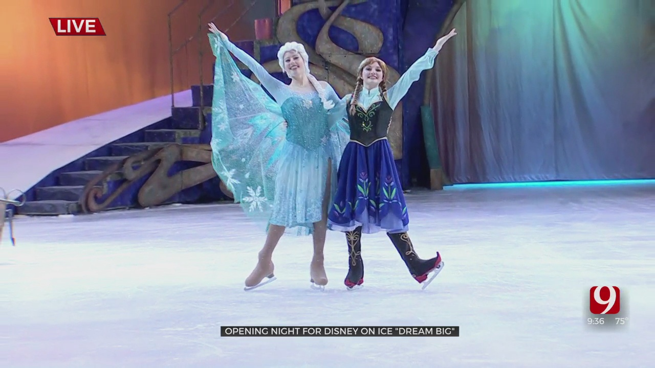 Disney On Ice Come To The Oklahoma State Fair