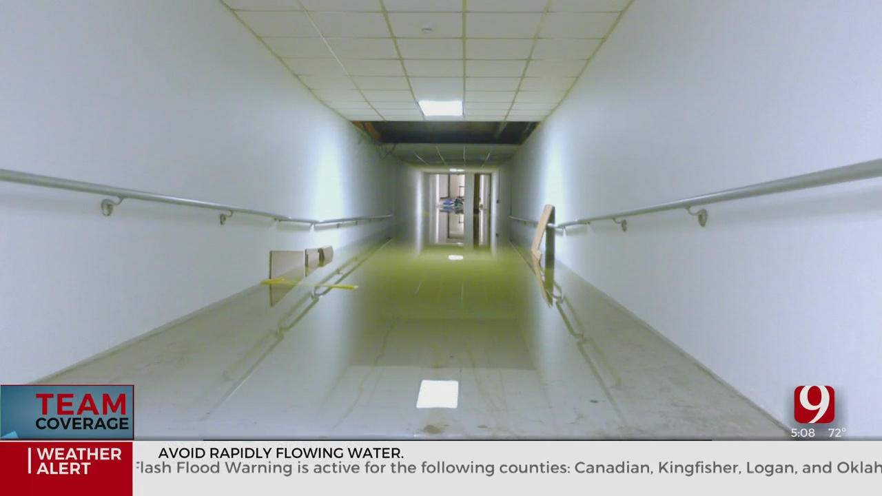 Torrential Rainfall Floods State Capitol Complex Tunnels