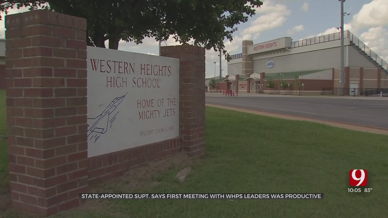 'I'm Going To Work With Everyone': State-Appointed Head Of Western Heights Says As Auditor Begins Investigation