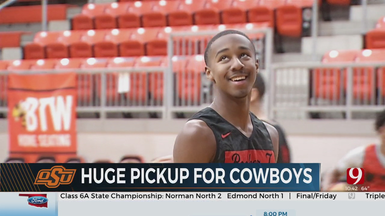 Bryce Thompson Commits To Oklahoma State