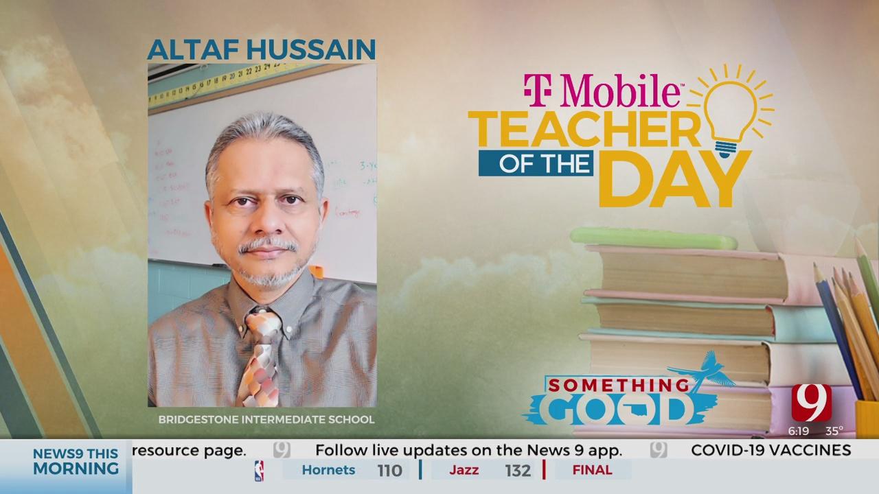 Teacher Of The Day: Altaf Hussain