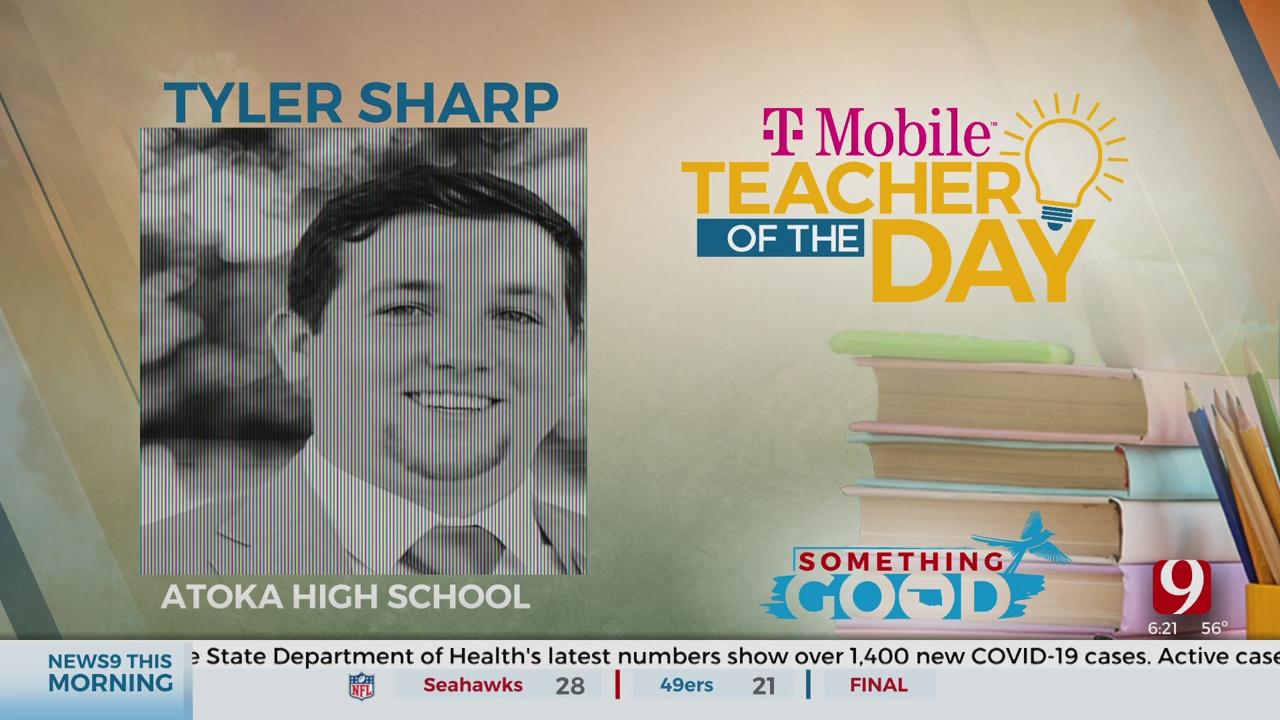 Teacher Of The Day: Tyler Sharp