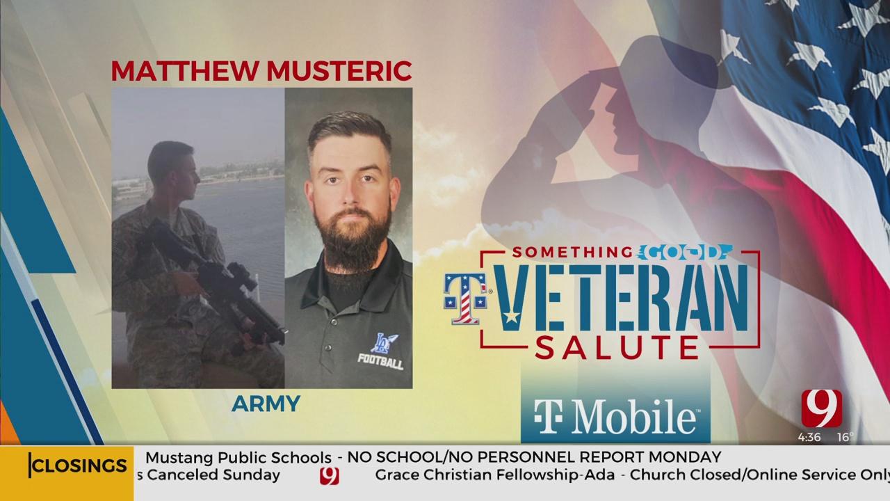 Veteran Salute: Matthew Musteric