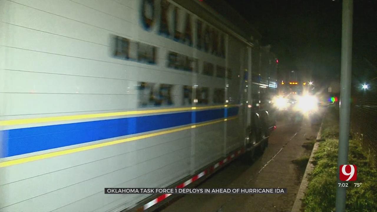 Oklahoma First Responders Heading To Gulf Coast Ahead Of Hurricane Ida