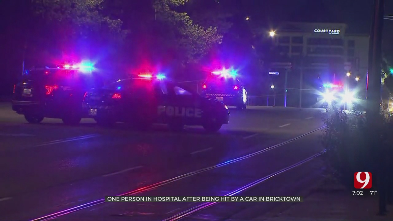 1 Person Hospitalized After Auto-Pedestrian Accident In Bricktown